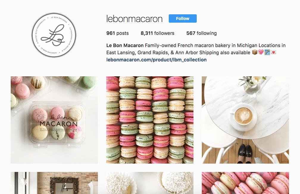 Le Bon Macaron Instagram